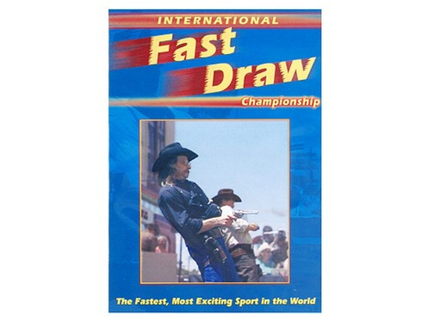 "Gun Video ""International Fast Draw Championship"" DVD"