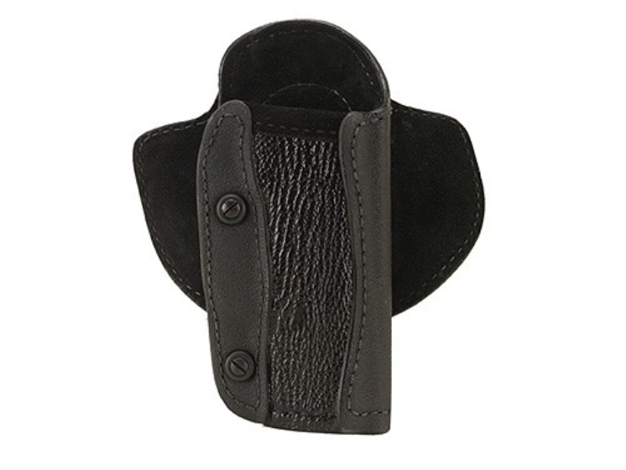 Wilson Combat Adjuster Holster Right Hand 1911, CZ 75, Hi-Power, S&W 4506 Shark/Leather/Kevlar/Kydex Black