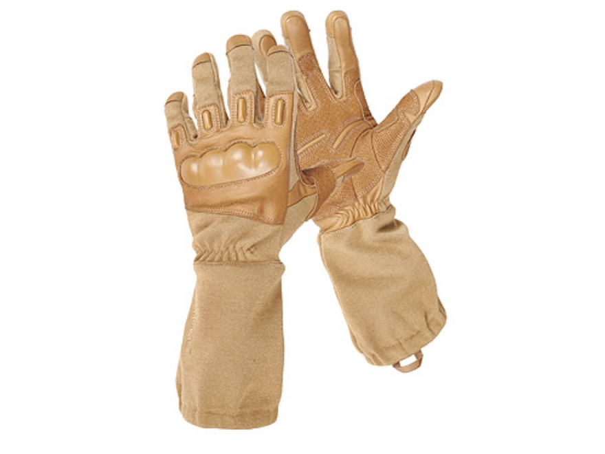 BlackHawk Fury  HD Gloves Leather Nylon and Nomex Coyote Tan