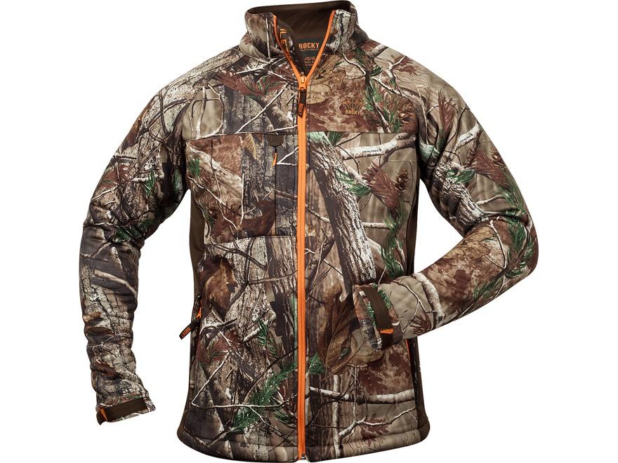 Rocky Men's L3 MaxProtect Softshell Jacket Polyester Realtree AP Camo Large 42-44