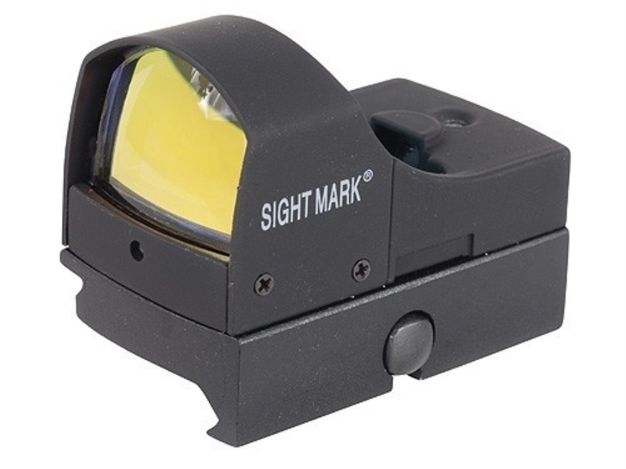 Sightmark Mini Shot  Red Dot Sight 1x 4 MOA Dot Matte