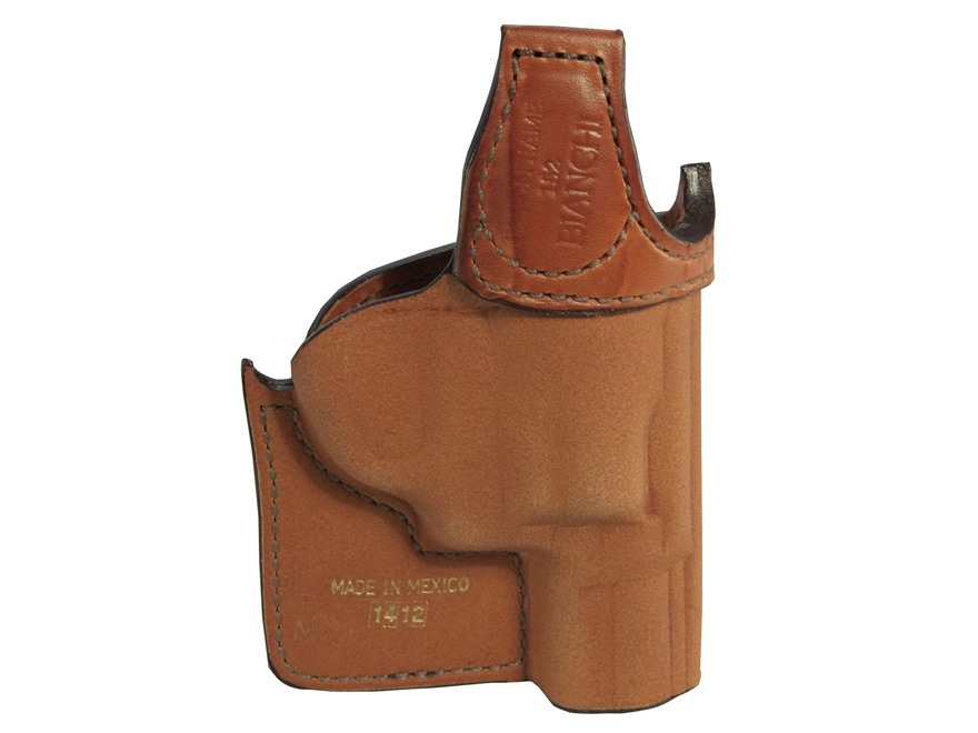 Bianchi 152 Pocket Piece Pocket Holster Ruger LCR Leather Brown