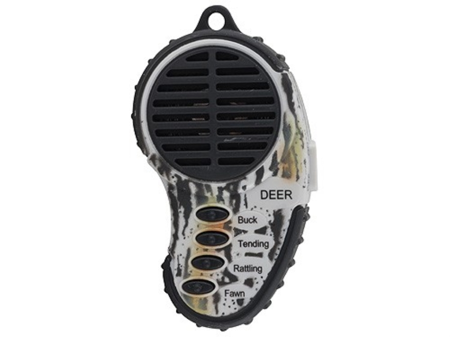 Cass Creek Mini Electronic Deer Call with 4 Digital Sounds