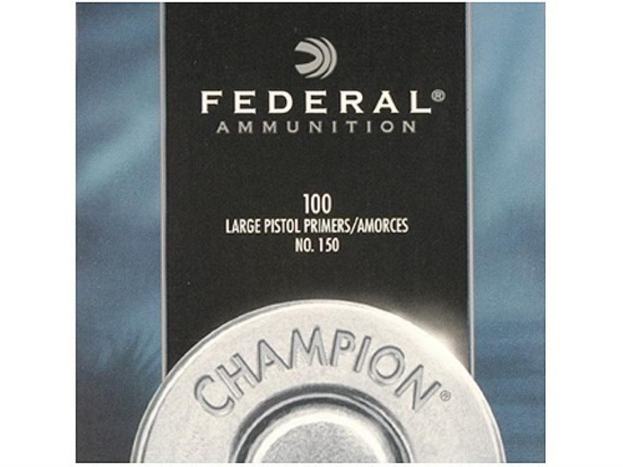Federal Large Pistol Primers #150