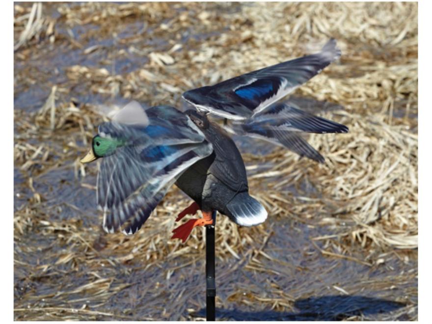Lucky Duck Rapid Flyer Motion Duck Decoy Polymer