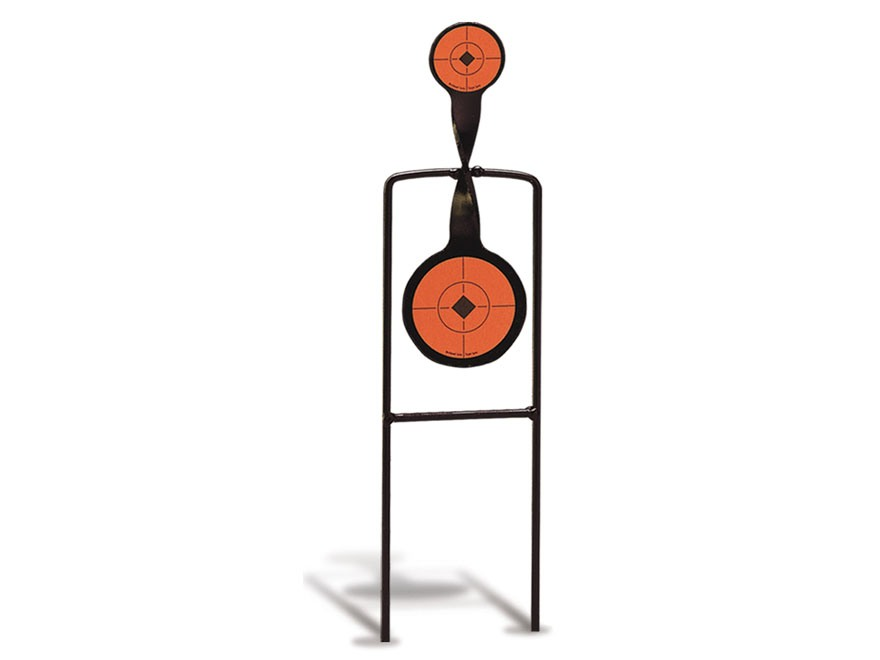 Birchwood Casey Sharpshooter 22 Rimfire Double Action Spinner Target Steel