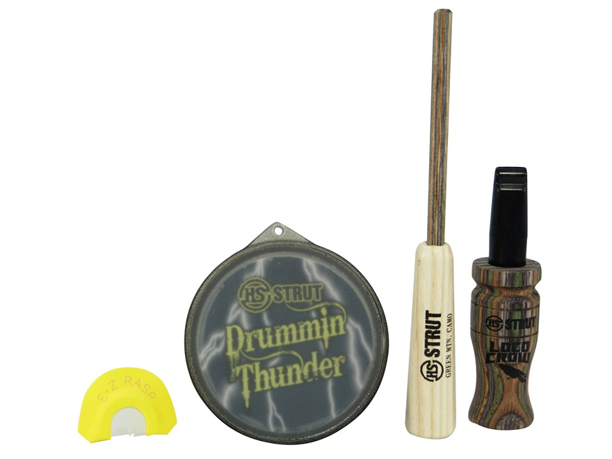 H.S. Strut Drummin' Thunder Combo Turkey Call Set