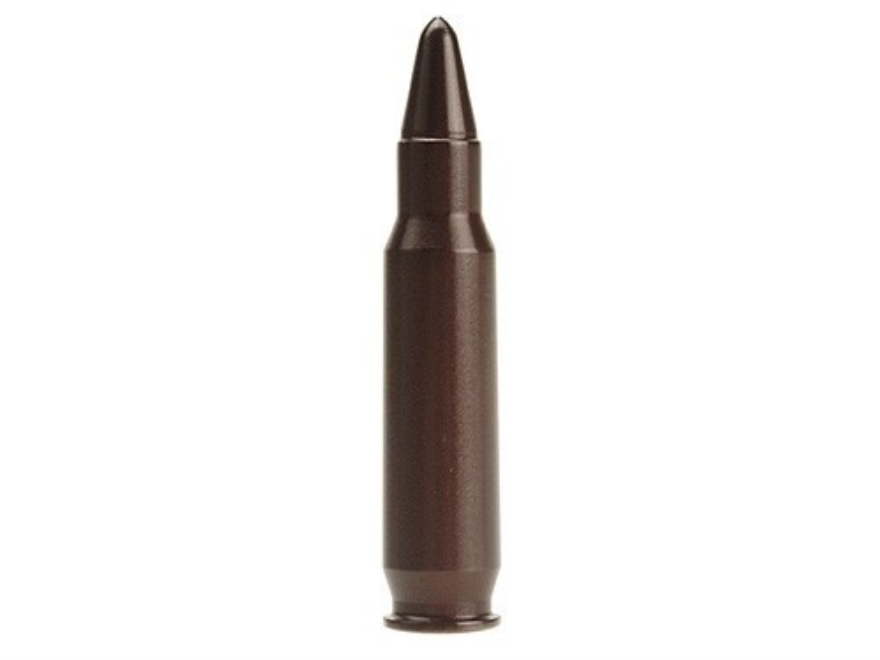 A-ZOOM Action Proving Dummy Round, Snap Cap 6.8mm Remington SPC Aluminum Package of 2