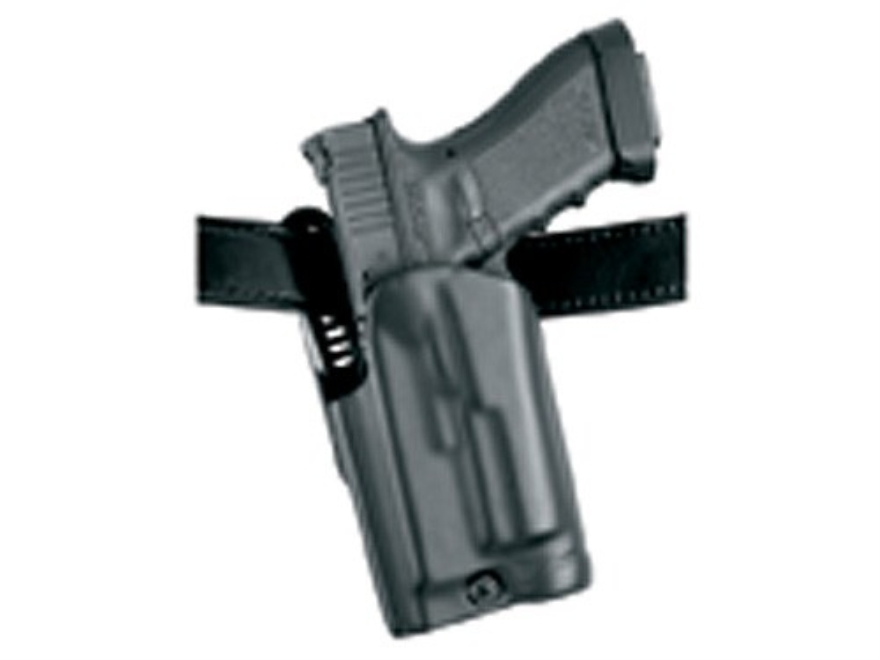 Safariland 5187 Holster Left Hand Glock 17, 22 with Rail Mounted Streamlight M3/M6, TLR-1, TLR-2, Surefire X200, LAS-TAC 2 Composite Black