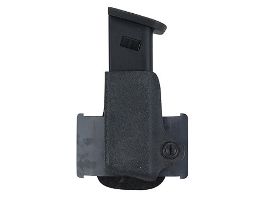 Safariland 074 Single Paddle Magazine Pouch Left Hand Beretta 8000, 8040, 92, 96, HK P7M13, Ruger P Series, Sig Sauer P226, P228, S&W 4006, 5906 Polymer Black