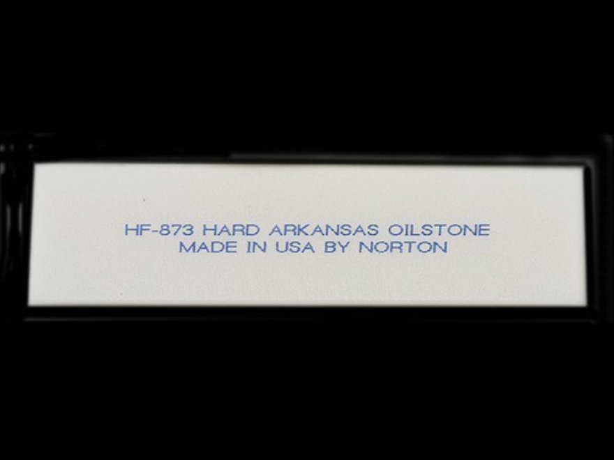 "Norton Hard Arkansas Sharpening Stone Knife Blade-Style 3"" x 3/4"" x 1/8"" Ultra-Fine"