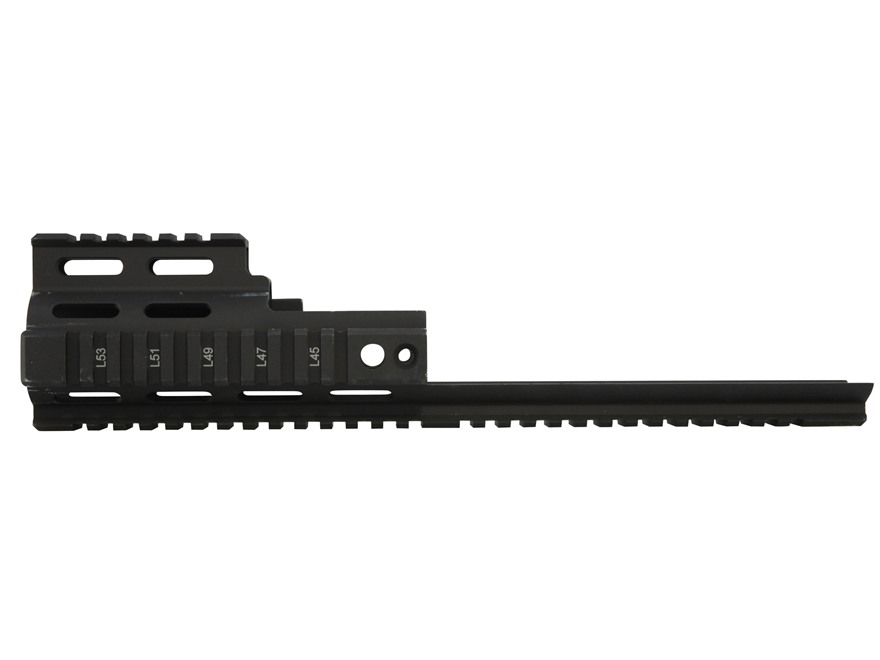 Midwest Industries Quad Rail Forend Extension FN SCAR Mk16, 16S, Mk17, 17S Aluminum