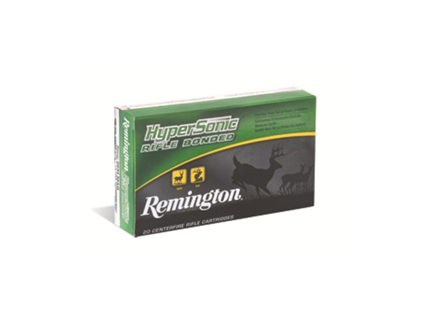 Remington HyperSonic Ammunition 300 Remington Ultra Magnum 180 Grain Core-Lokt Ultra Bonded Pointed Soft Point Box of 20