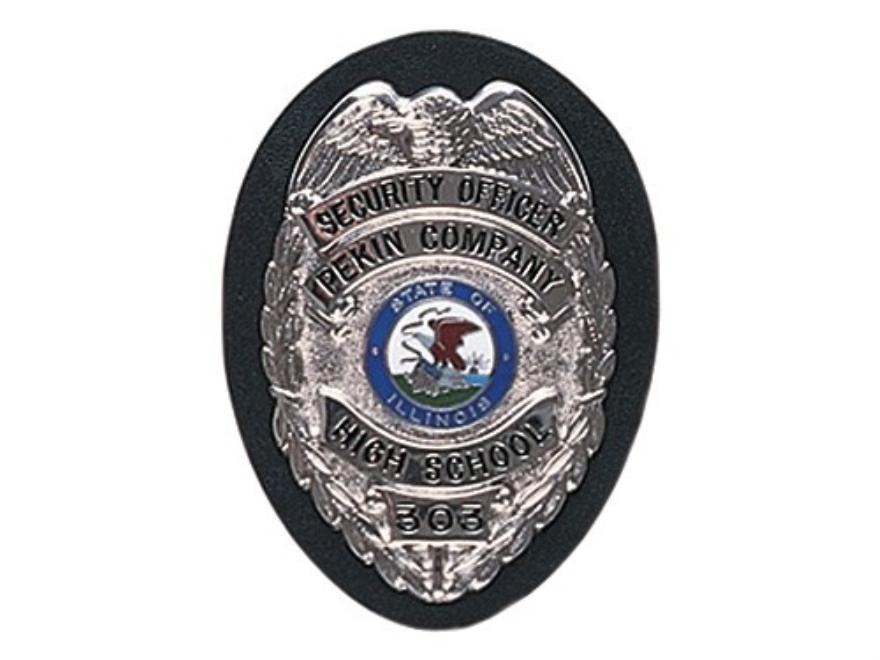 Gould & Goodrich B408 Badge Holder Leather Black