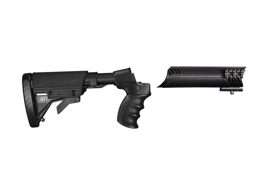 Advanced Technology Talon Tactical 6-Position Collapsible Stock and Forend Set with Triton Mount & Scorpion Recoil System Remington 870 12 Gauge