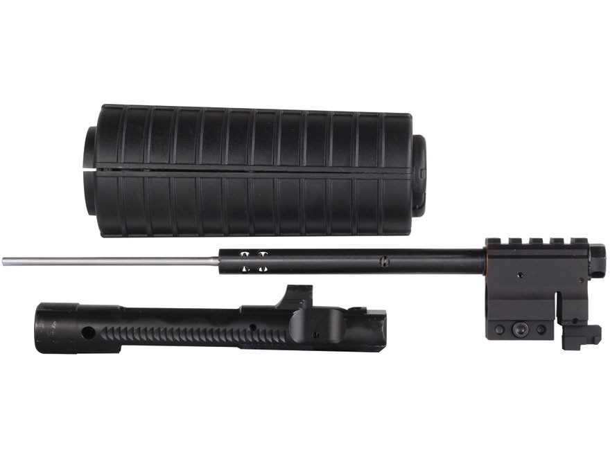 CMMG Gas Piston Retrofit Conversion Kit with Gas Block and 1-Piece Bolt Carrier AR-15 Carbine Length