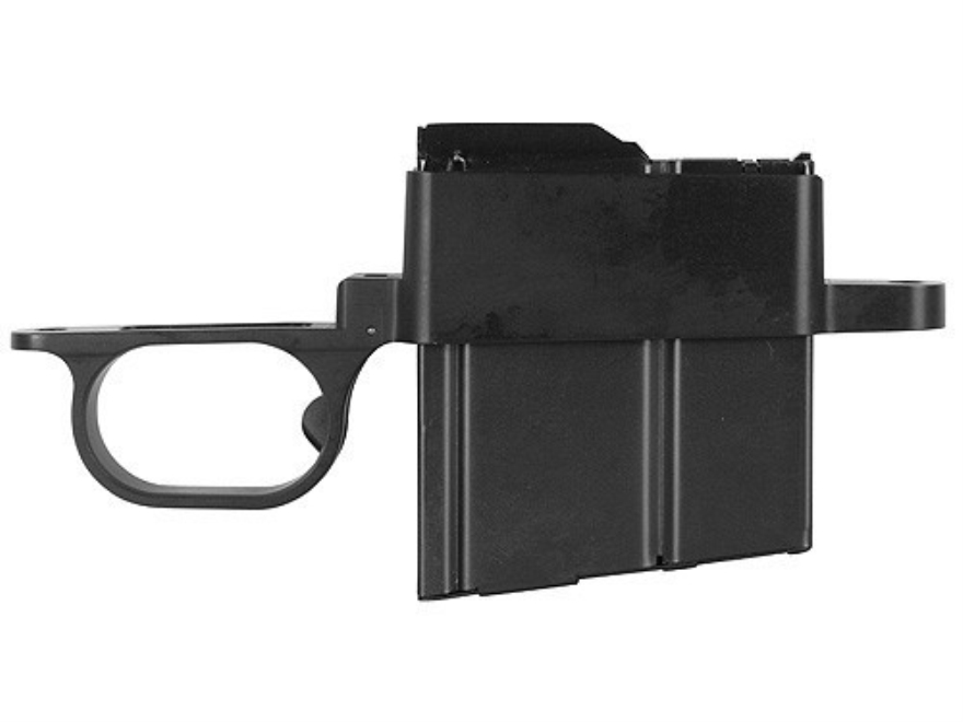 Wyatt's Outdoors Trigger Guard and Detachable Magazine Assembly Remington 700 BDL Short Action 308 Winchester 5-Round Aluminum Black
