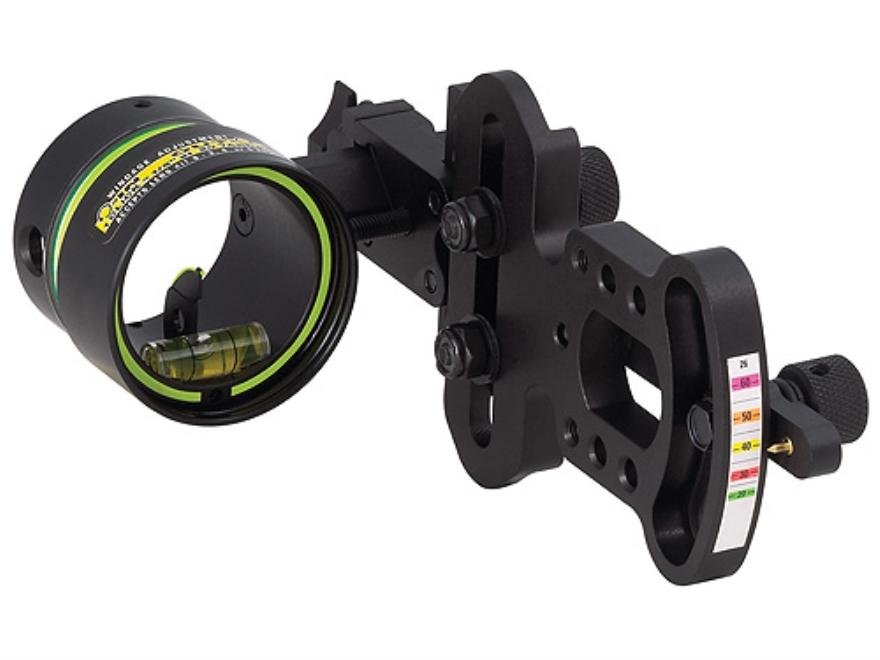 "HHA Sports Optimizer Lite OL-5519 1-Pin Bow Sight .019"" Pin Diameter Right Hand Aluminu..."