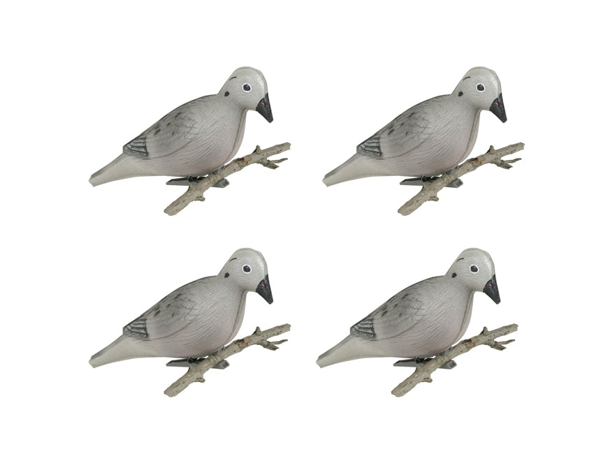 Flambeau Foam Dove Decoy Pack of 4