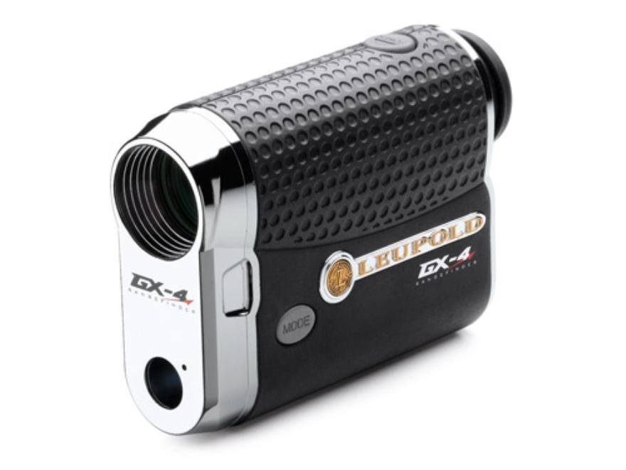 Leupold GX-4 Golf Laser Rangefinder 800 Yard 6x Black