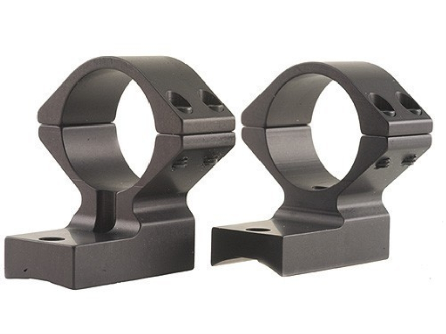 "Talley Lightweight 2-Piece Scope Mounts with Integral 1"" Rings Extended Front Remington 700 Matte Medium"