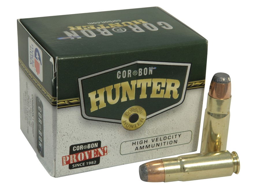 Cor-Bon Self-Defense Ammunition 458 SOCOM 400 Grain Jacketed Soft Point Box of 20