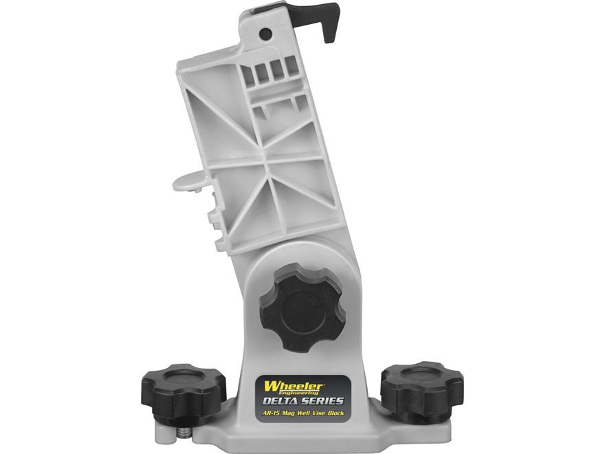 Wheeler Engineering Delta Series Lower Receiver Magazine Well Vise Block AR-15 Polymer