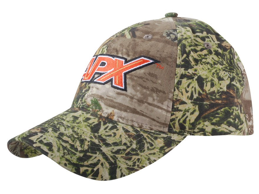 APX Logo Cap Cotton Polyester Blend Realtree Max-1 Camo