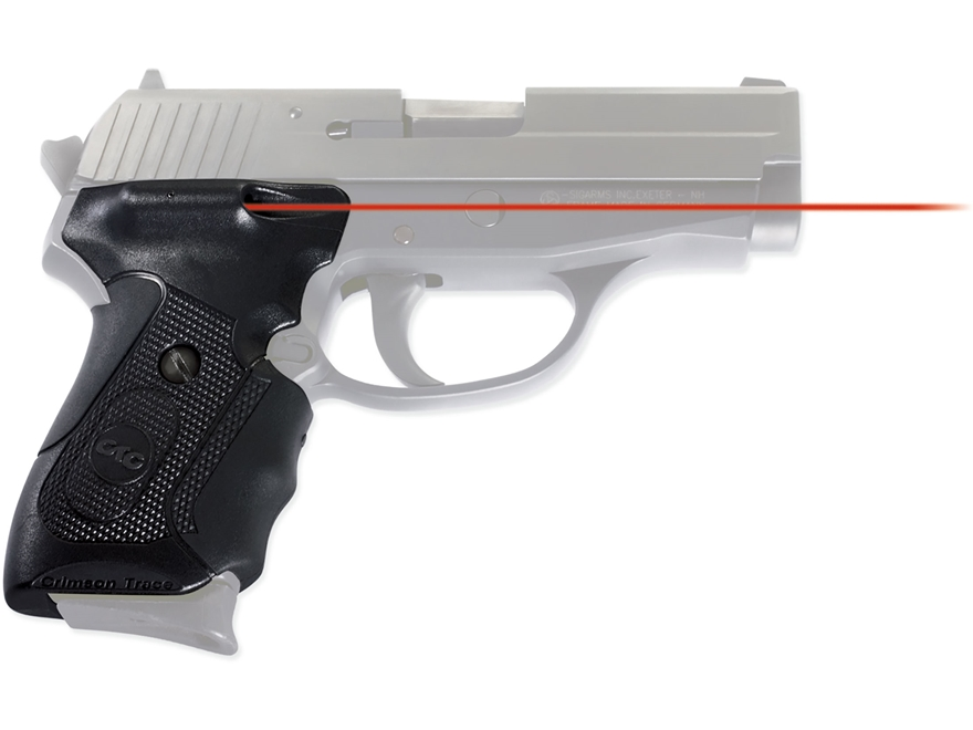 Crimson Trace Lasergrips Sig Sauer P239 Overmolded Rubber Black