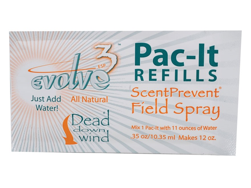 Dead Down Wind Pac-It Scent Elimination Spray Concentrate Pack of 3