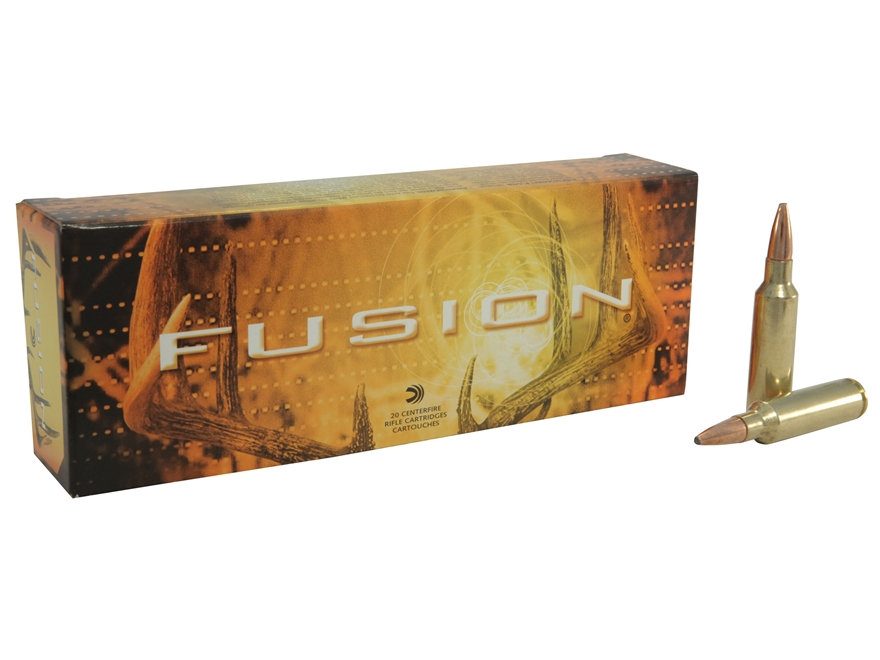 Federal Fusion Ammunition 300 Winchester Short Magnum (WSM) 180 Grain Spitzer Boat Tail...
