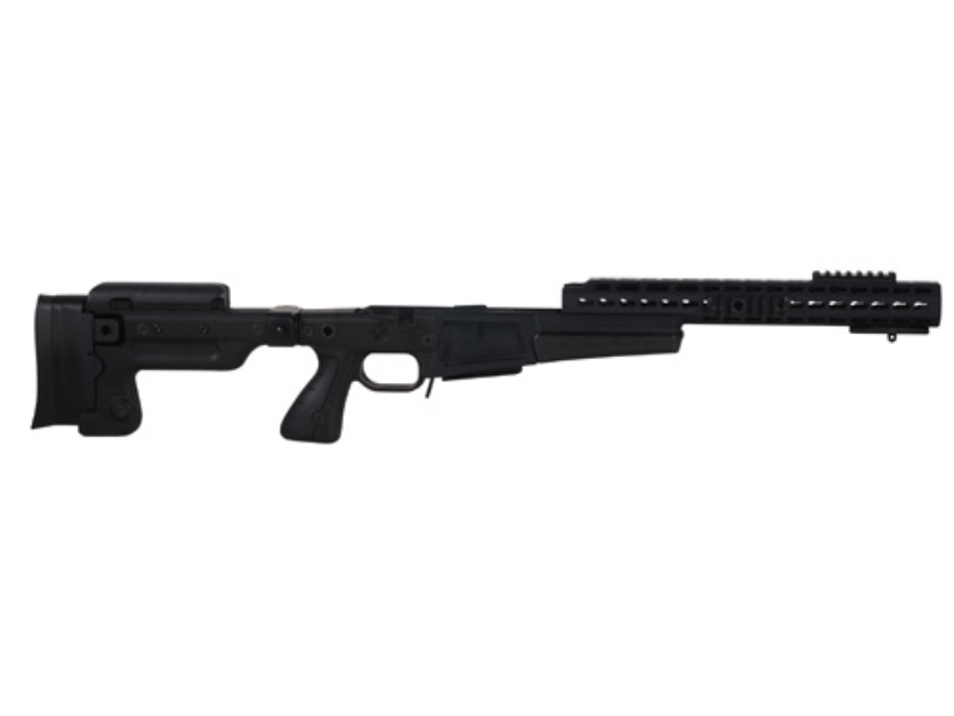 Accuracy International AX Chassis System (AX AICS) Folding Adjustable Stock Remington 7...