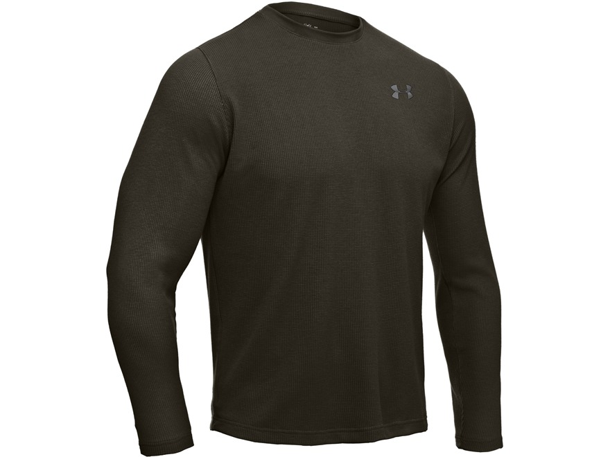 Under Armour Men's UA Waffle Long Sleeve Crew Shirt