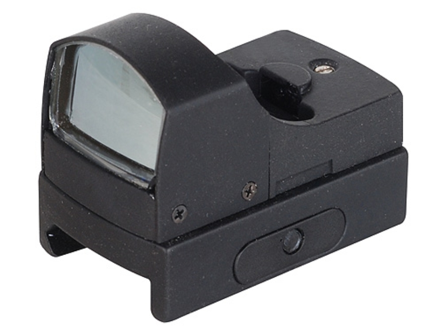 Konus Sight-Pro Fission Micro Reflex Red Dot Sight 4 MOA Red and Green Dot Matte with Integral Weaver-Style Mount