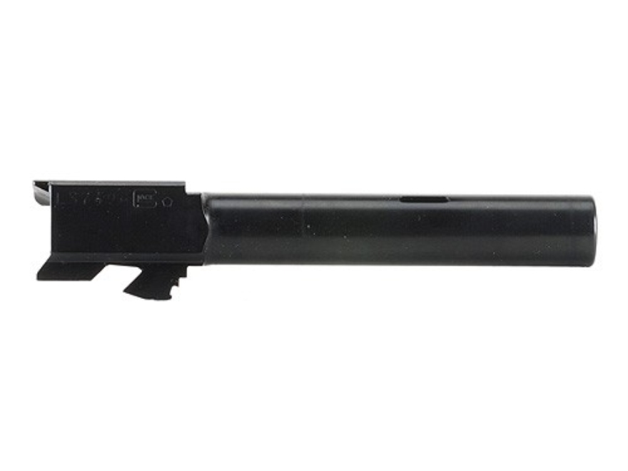 "Glock Barrel Glock 22C 40 S&W 1 in 9.84"" Twist 4.49"" Carbon Steel Matte with Compensator"