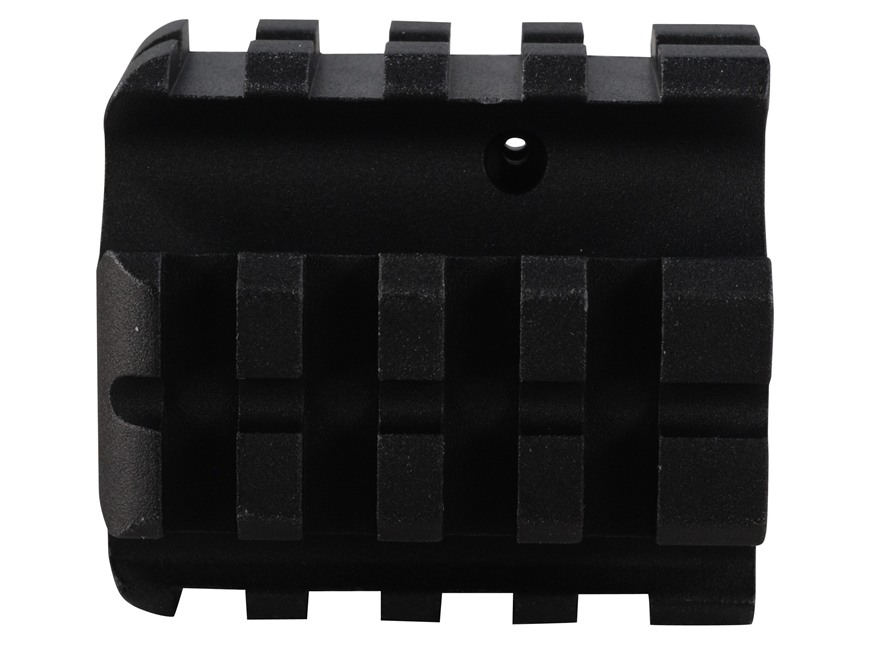 "DPMS Gas Block 4 Picatinny Rail AR-15, LR-308 Standard Barrel .750"" Inside Diameter Aluminum Matte"