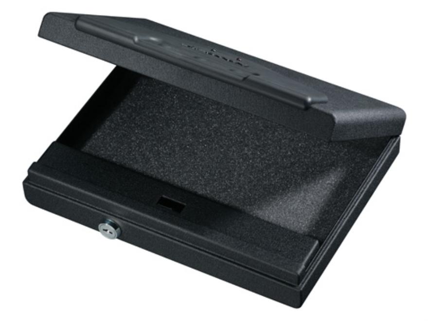 "Stack-On Handgun Vault Security Pistol Case with Electronic Lock 11"" Black"