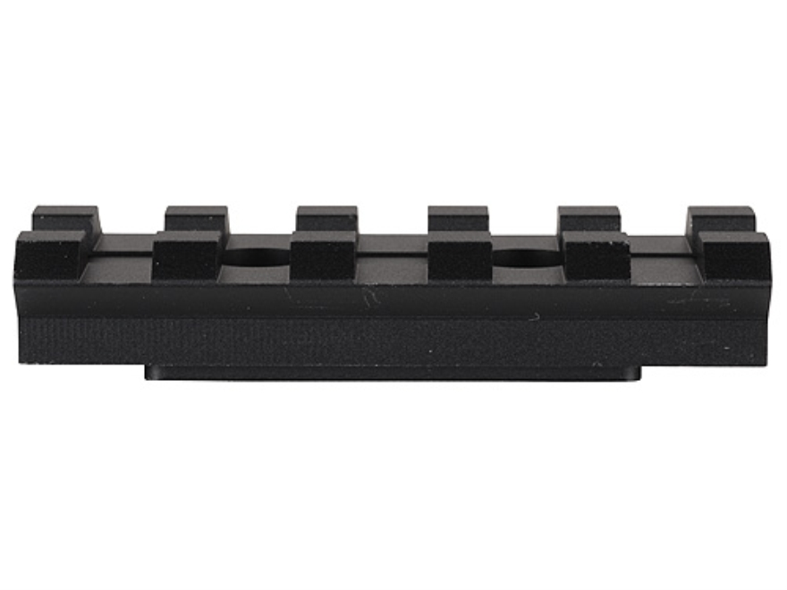 "Advanced Technology Picatinny Rail 2"" Length Fits ATI Strikeforce Stocks Aluminum Black"