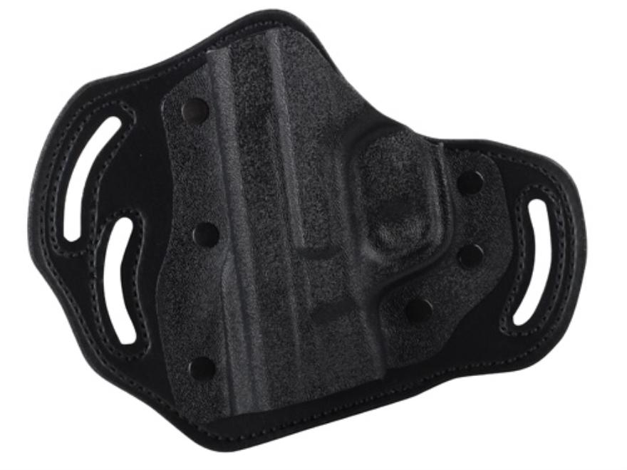 DeSantis Intimidator Belt Holster Left Hand S&W M&P 9, 40 Kydex and Leather Black