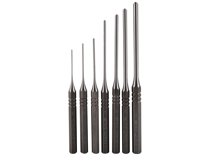Grace USA Roll Pin Punch Set 7-Piece Steel