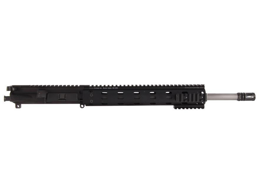 "Syrac Ordnance AR-15 A3 Flat-Top Upper Assembly 223 Wylde 1 in 8"" Twist 16"" Barrel Stainless Steel Mid Gas with Daniel Defense MFR 12.0 Free Float Handguard, Solid Gas Block, Flash Hider"