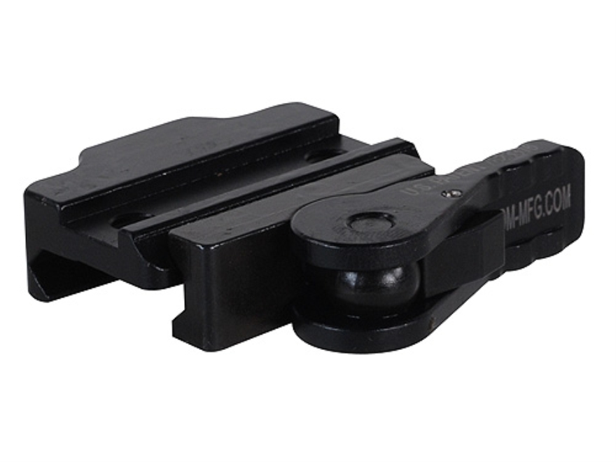 American Defense AD-170-S Riser with Quick-Release Picatinny-Style Mount Aluminum Matte