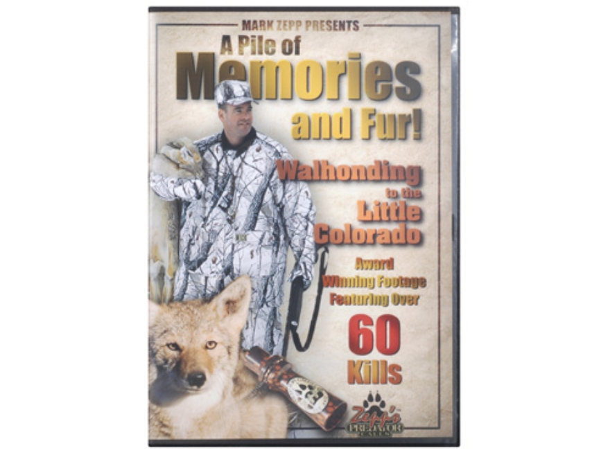 "Zepps Video ""A Pile Of Memories And Fur"" Predator Hunting DVD"