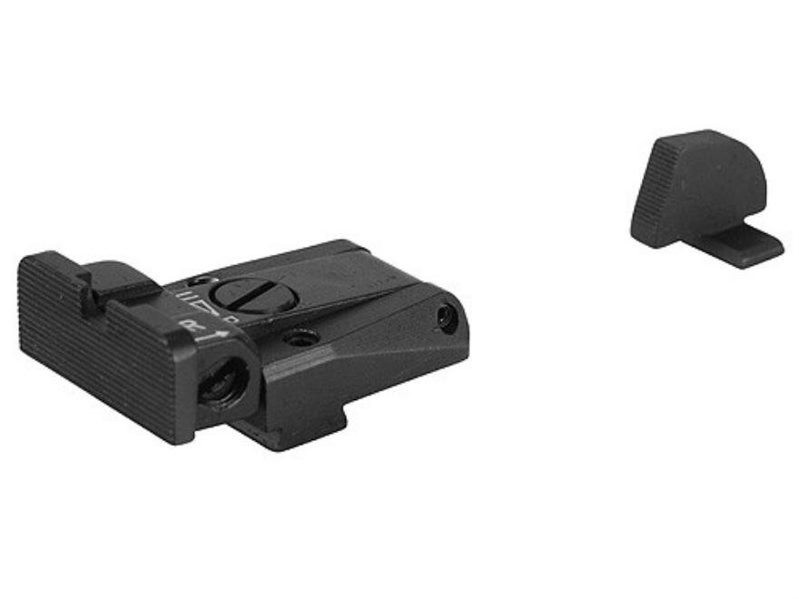 LPA SPR Target Sight Set Sig Sauer P220, P225, P226, P228 Steel Blue