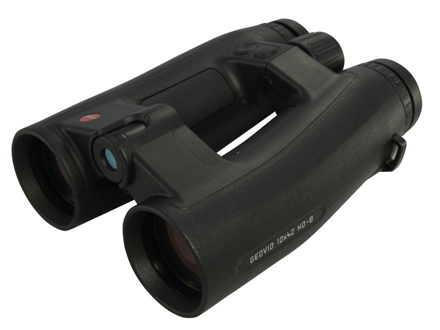 Leica Geovid HD-B Laser Rangefinding Binocular 42mm Porro Prism Armored Black