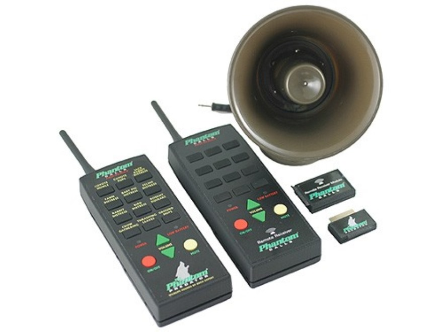 Extreme Dimension Phantom Pro-Series Electronic Predator Call with Wireless Remote and 12 Digital Sounds