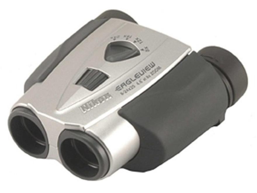 Nikon Eagleview Zoom Binocular 8-24x 25mm Porro Prism Silver