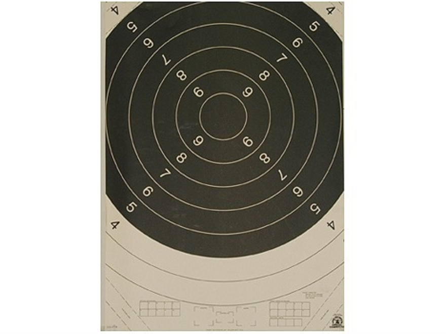 NRA Official International High Power Rifle Targets Repair Center C-1C 300 Meter Paper ...