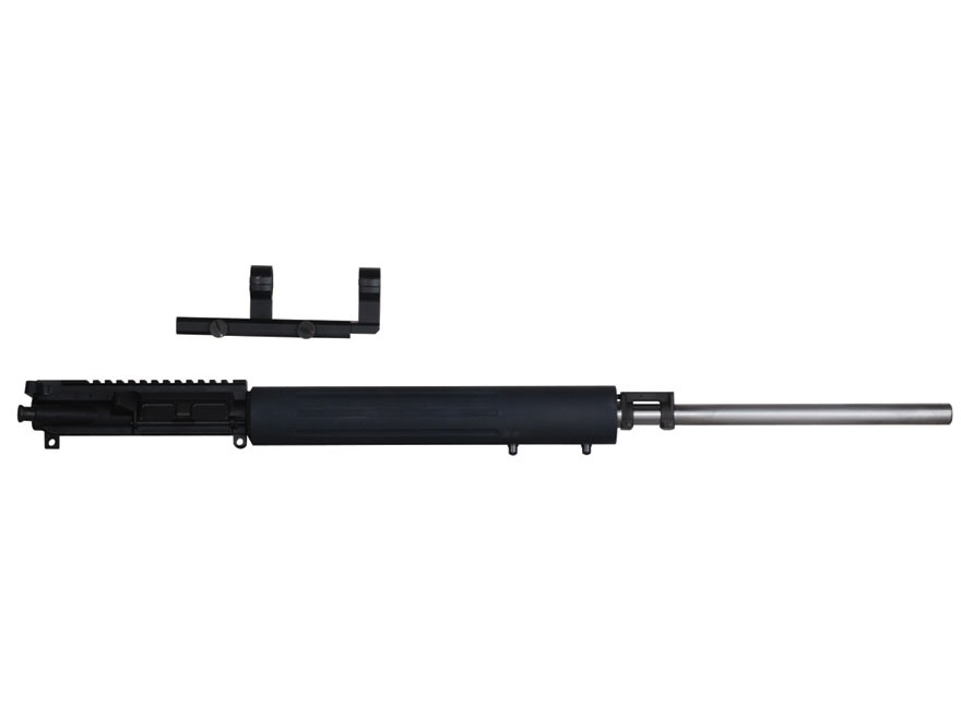 "Colt AR-15 Flat-Top Upper Assembly 5.56x45mm NATO 1 in 9"" Twist 24"" Heavy Barrel Stainless Steel Free Float Handguard"