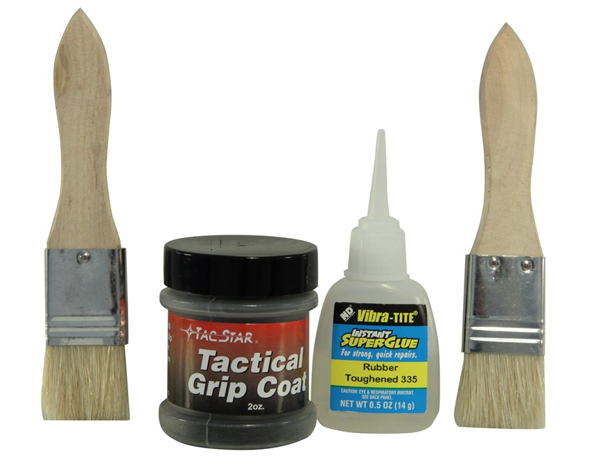 TacStar Tuffcoat Tactical Grip Coating Kit Rubber Black